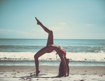 Yoga on Oak Island NC