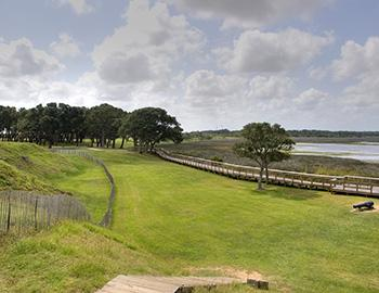 Fort Fisher Historical Site in North Carolina