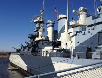 The North Carolina Battleship