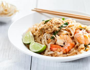 pad thai bowl