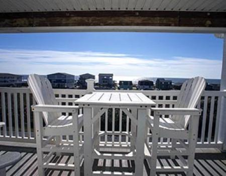 Ocean walk community at Oak Island, NC