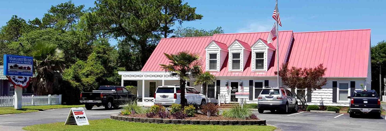 Margarett Rudd's office on Oak Island, NC