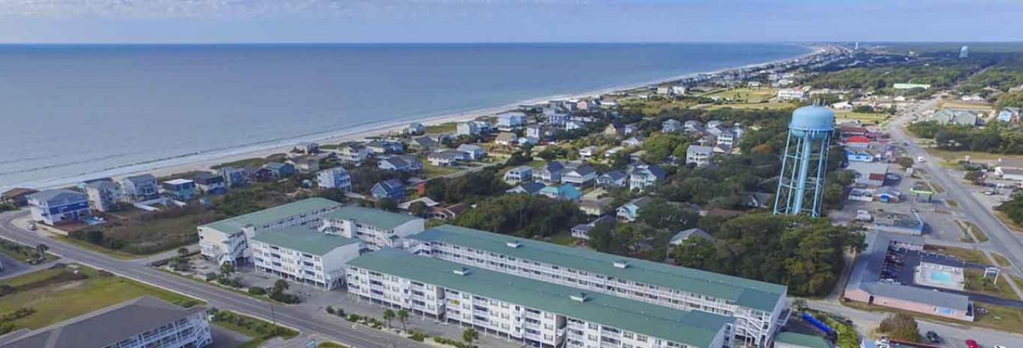 Ariel shot of East Beach Oak Island