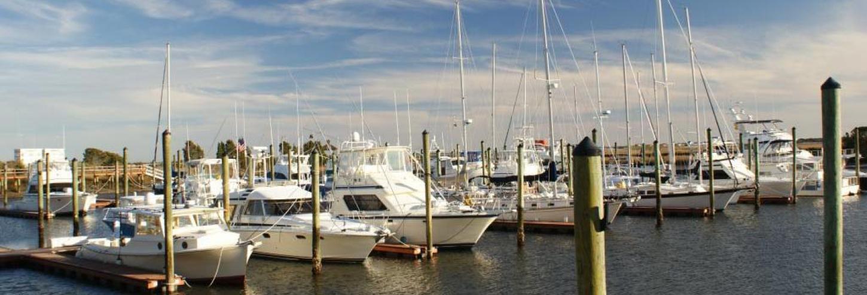 Sailing boat in North Carolina