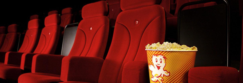 Popcorn at a movie theatre