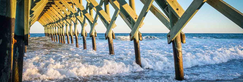 Ocean Crest Pier in North Carolina