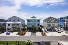 popular oak island beach rentals