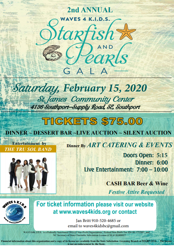 Starfish and Pearls Gala in Southport NC