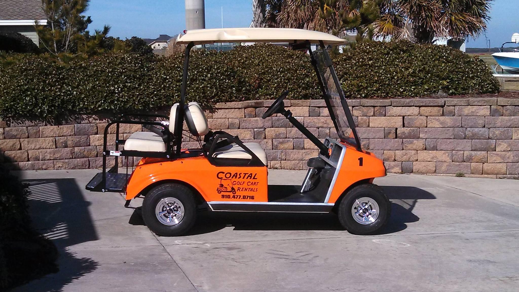 coastal golf cart rentals