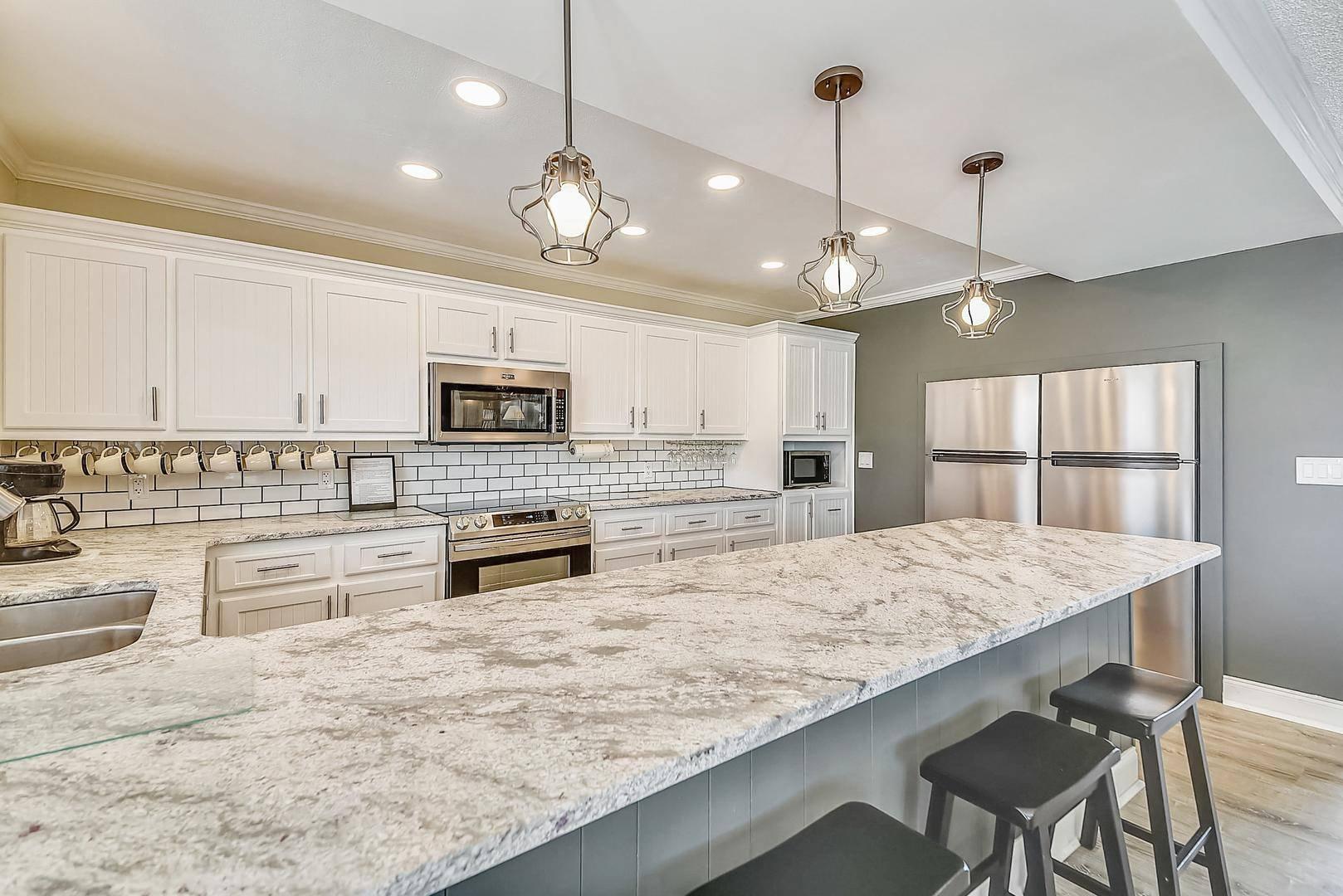 Desiderata West Beach Oak Island Vacation Rental Home with Amazing Kitchen