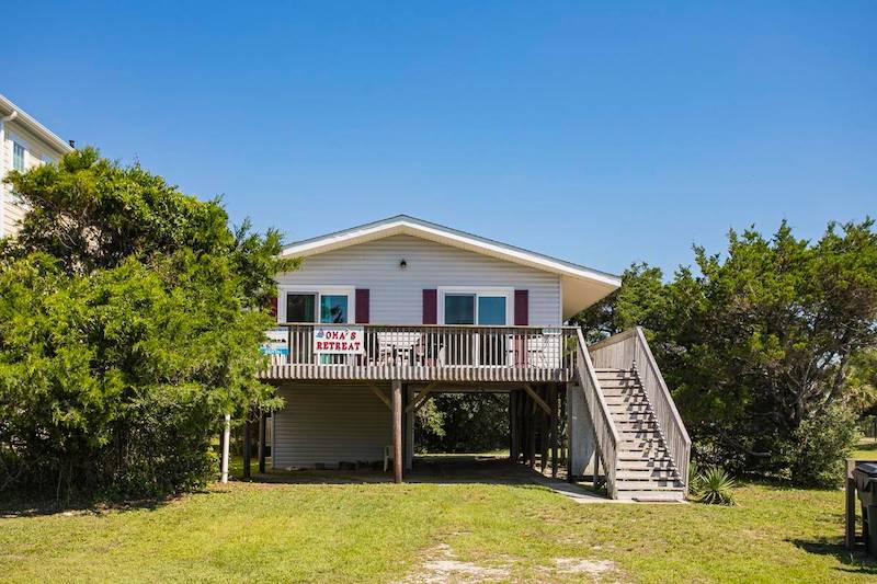 An Oak Island vacation home