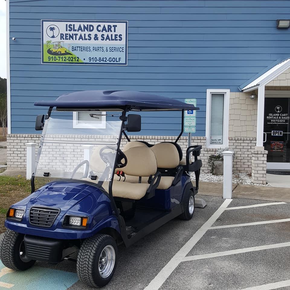 island cart rentals oak island nc