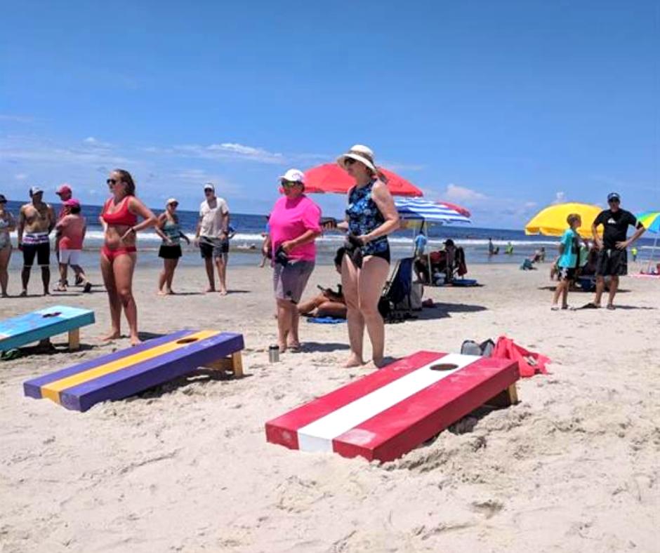 Oak Island Beach Day