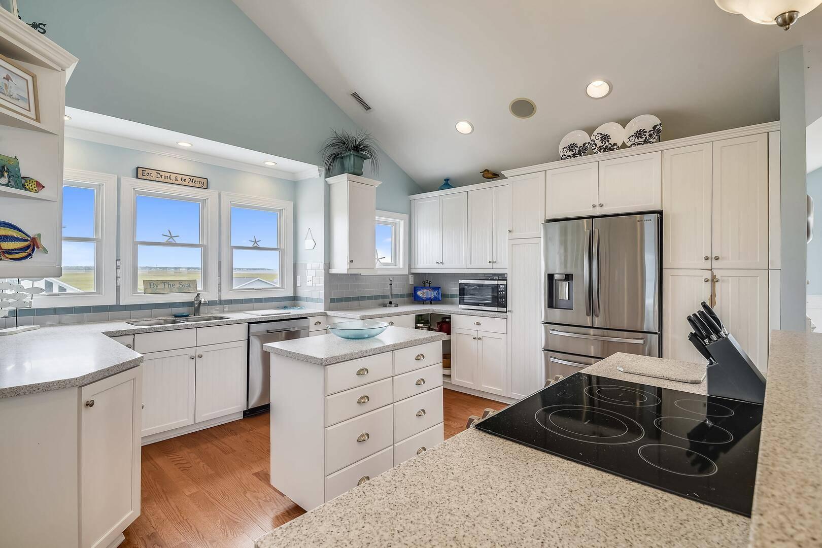 large kitchen rentals oak island