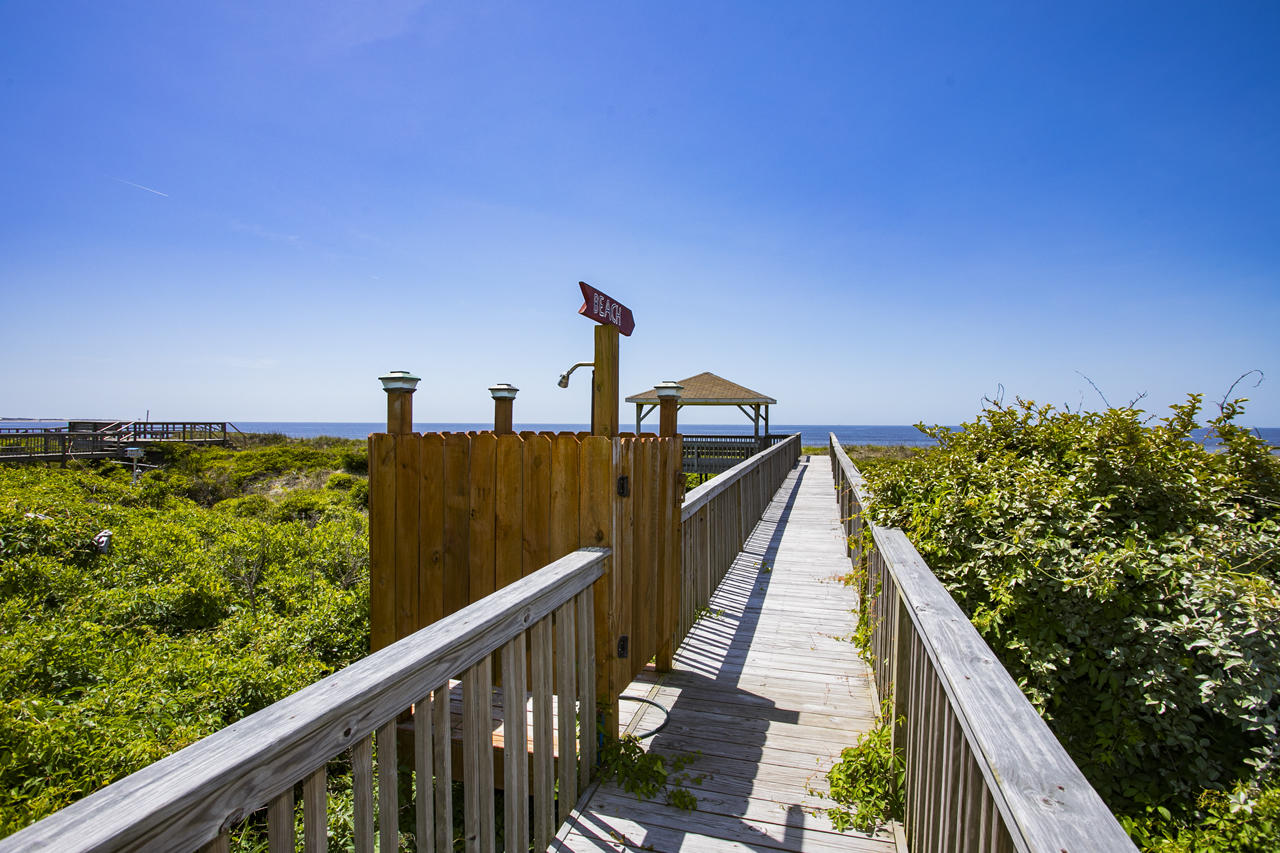 Sea Turtle Oceanfront Caswell Beach Property
