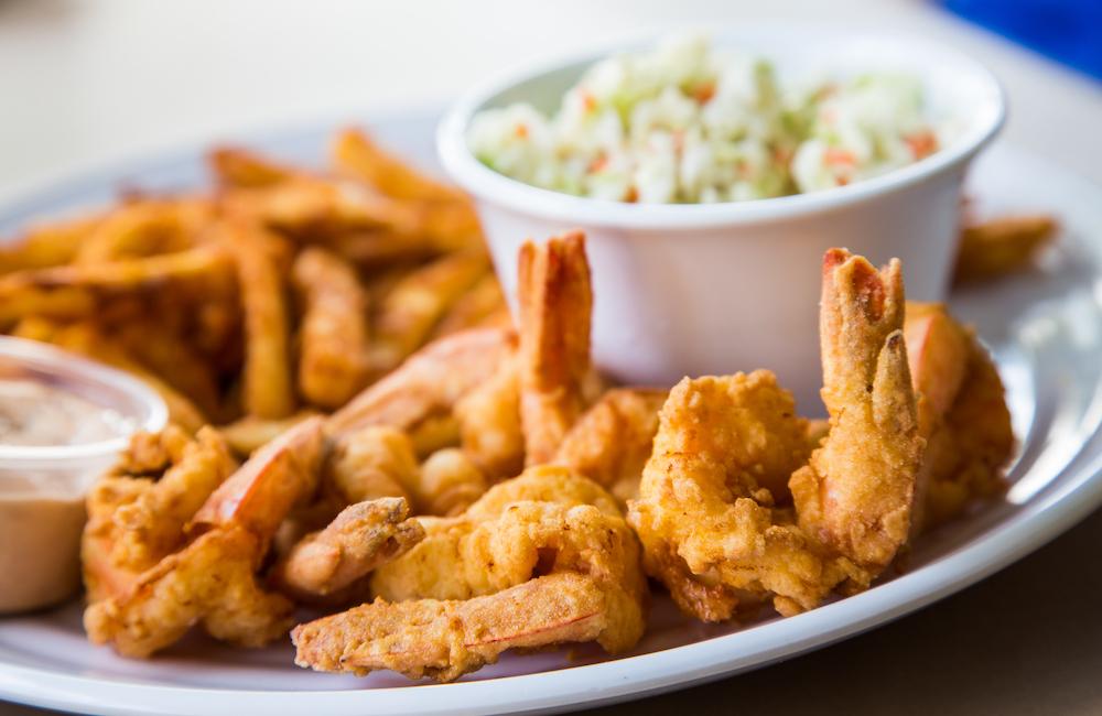 Fried Shrimp Platter Local's Family Diner