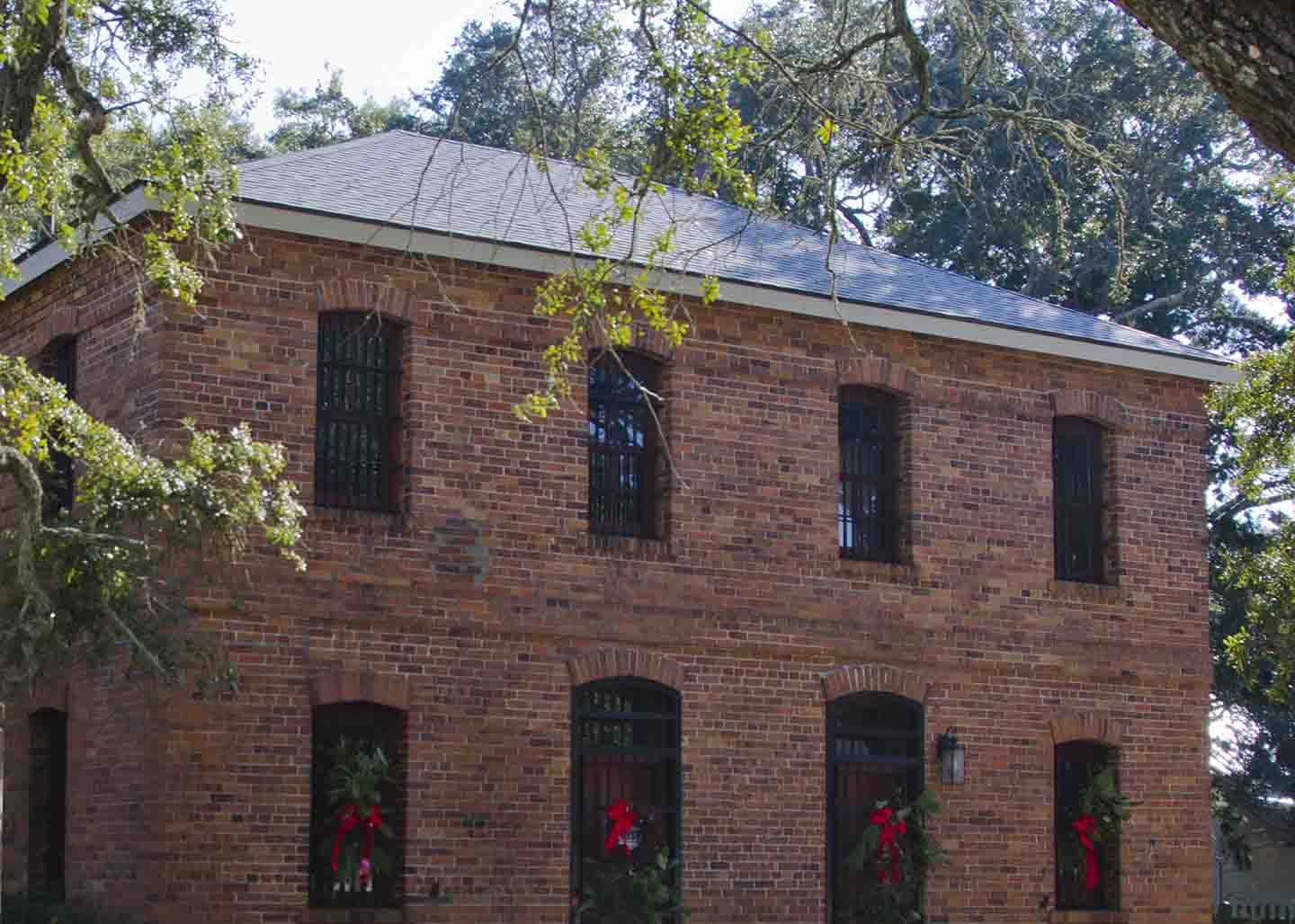 Old Brunswick Jail in Southport, NC