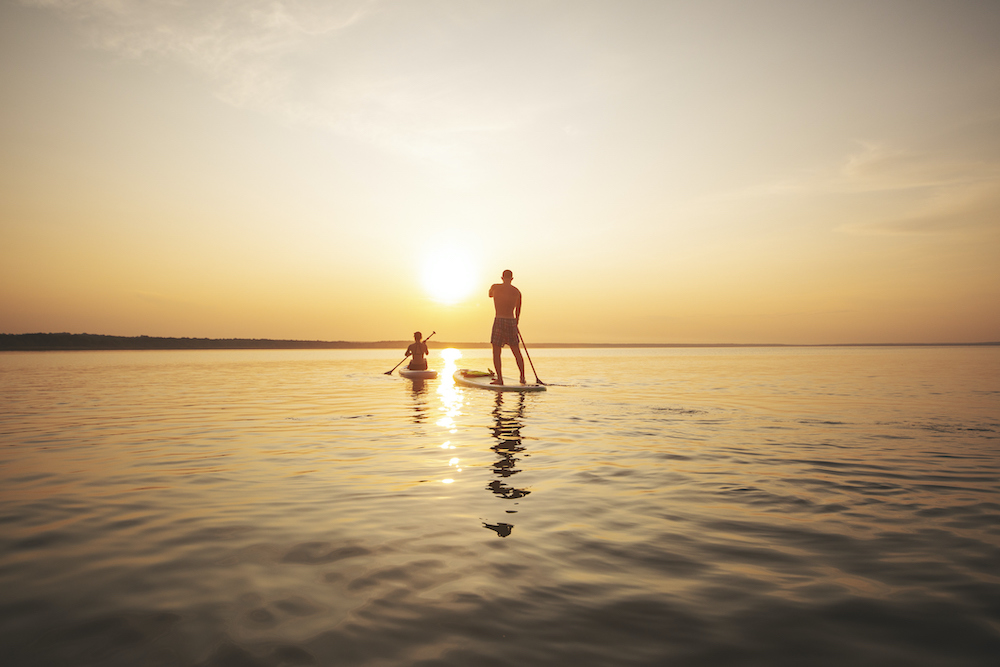 stand up paddleboard southport