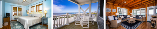 Oak Island Vacation Rental Views